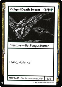 Golgari Death Swarm, Magic: The Gathering, Mystery Booster: Convention Edition Exclusives