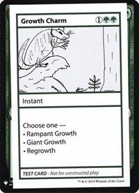 Growth Charm, Magic: The Gathering, Mystery Booster: Convention Edition Exclusives