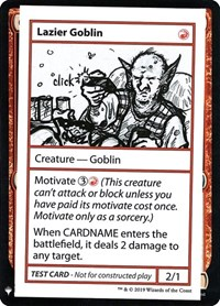 Lazier Goblin, Magic: The Gathering, Mystery Booster: Convention Edition Exclusives