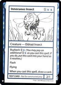 Innocuous Insect, Magic: The Gathering, Mystery Booster: Convention Edition Exclusives