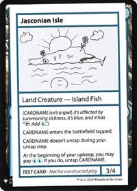 Jasconian Isle, Magic: The Gathering, Mystery Booster: Convention Edition Exclusives