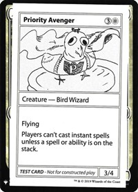 Priority Avenger, Magic: The Gathering, Mystery Booster: Convention Edition Exclusives