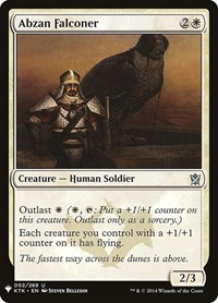 Abzan Falconer, Magic: The Gathering, Mystery Booster Cards
