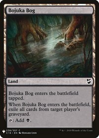 Bojuka Bog (C18), Magic: The Gathering, Mystery Booster Cards