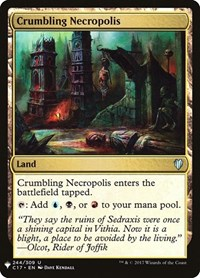 Crumbling Necropolis, Magic: The Gathering, Mystery Booster Cards
