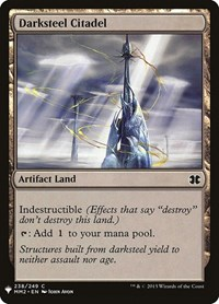 Darksteel Citadel, Magic: The Gathering, Mystery Booster Cards
