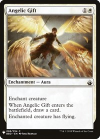 Angelic Gift, Magic: The Gathering, Mystery Booster Cards