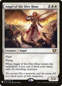 Angel of the Dire Hour, Magic: The Gathering, Mystery Booster Cards