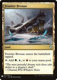 Frontier Bivouac, Magic: The Gathering, Mystery Booster Cards