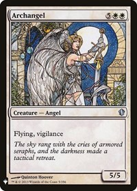 Archangel, Magic: The Gathering, Mystery Booster Cards