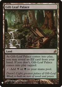 Gilt-Leaf Palace, Magic: The Gathering, Mystery Booster Cards