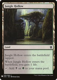 Jungle Hollow, Magic: The Gathering, Mystery Booster Cards