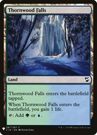 Thornwood Falls, Magic: The Gathering, Mystery Booster Cards