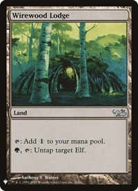 Wirewood Lodge, Magic, Mystery Booster Cards