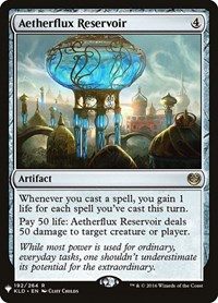 Aetherflux Reservoir, Magic: The Gathering, Mystery Booster Cards