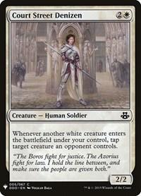 Court Street Denizen, Magic, Mystery Booster Cards