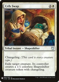 Crib Swap, Magic, Mystery Booster Cards