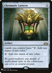 Chromatic Lantern, Magic: The Gathering, Mystery Booster Cards