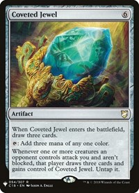 Coveted Jewel, Magic: The Gathering, Mystery Booster Cards