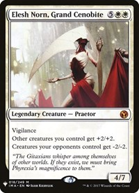 Elesh Norn, Grand Cenobite, Magic: The Gathering, Mystery Booster Cards