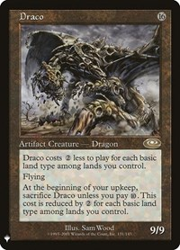 Draco, Magic: The Gathering, Mystery Booster Cards