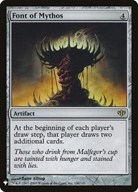 Font of Mythos, Magic: The Gathering, Mystery Booster Cards