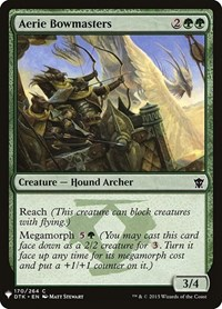 Aerie Bowmasters, Magic: The Gathering, Mystery Booster Cards