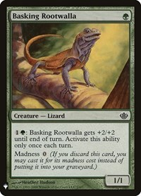 Basking Rootwalla, Magic, Mystery Booster Cards