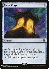 Mana Crypt, Magic: The Gathering, Mystery Booster Cards