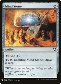 Mind Stone, Magic: The Gathering, Mystery Booster Cards
