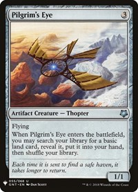 Pilgrim's Eye, Magic: The Gathering, Mystery Booster Cards