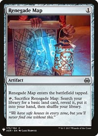 Renegade Map, Magic: The Gathering, Mystery Booster Cards