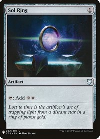 Sol Ring, Magic: The Gathering, Mystery Booster Cards