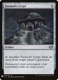 Tormod's Crypt, Magic: The Gathering, Mystery Booster Cards