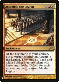 Assemble the Legion, Magic: The Gathering, Mystery Booster Cards