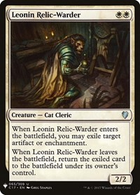 Leonin Relic-Warder, Magic: The Gathering, Mystery Booster Cards