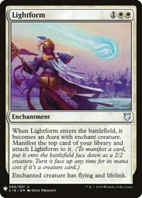Lightform, Magic: The Gathering, Mystery Booster Cards