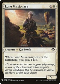 Lone Missionary