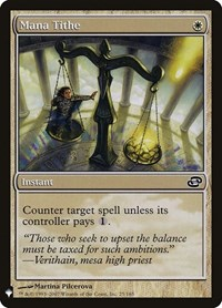 Mana Tithe, Magic: The Gathering, Mystery Booster Cards