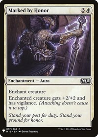 Marked by Honor, Magic: The Gathering, Mystery Booster Cards