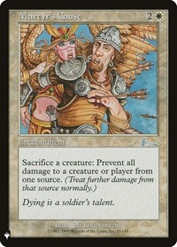 Martyr's Cause, Magic: The Gathering, Mystery Booster Cards