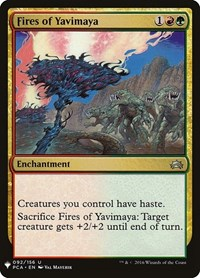 Fires of Yavimaya, Magic: The Gathering, Mystery Booster Cards
