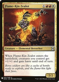 Flame-Kin Zealot, Magic: The Gathering, Mystery Booster Cards