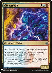 Gelectrode, Magic: The Gathering, Mystery Booster Cards