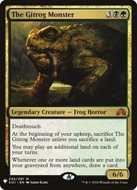 The Gitrog Monster, Magic: The Gathering, Mystery Booster Cards
