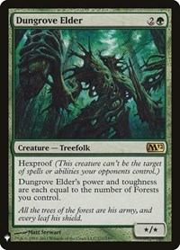 Dungrove Elder, Magic, Mystery Booster Cards
