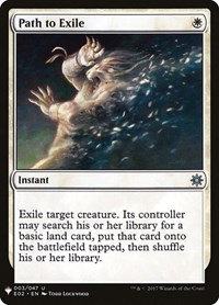 Path to Exile, Magic: The Gathering, Mystery Booster Cards