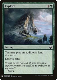 Explore, Magic, Mystery Booster Cards