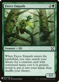Fierce Empath, Magic: The Gathering, Mystery Booster Cards
