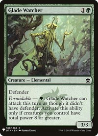 Glade Watcher, Magic: The Gathering, Mystery Booster Cards